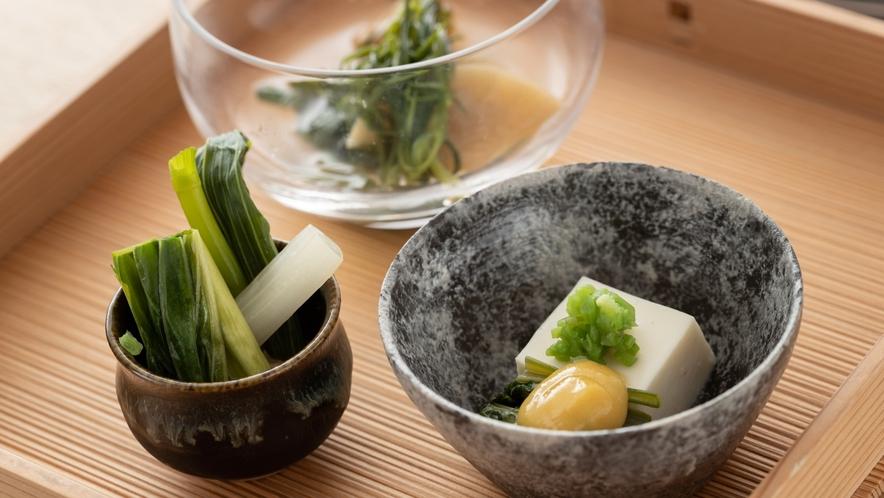 【夕食】春の料理例
