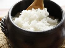 【朝食例】置賜盆地は日本有数の米どころ。〆のご飯は、もうひとつのメインディシュ。山形の新品種ツヤヒメ