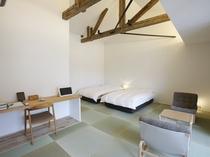 【YAMAGATA06】「和室にあう家具を」とデザインしたチェアとテーブルをコーディネート