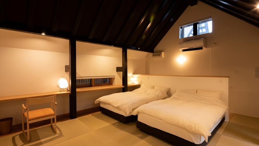 【KURA04】2階ベッドルーム