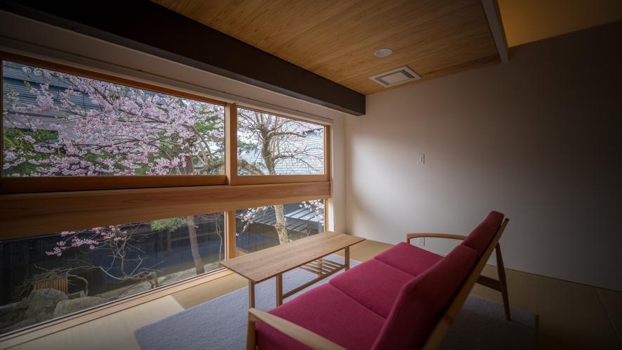 【KURA07】春は桜を眺めるお部屋