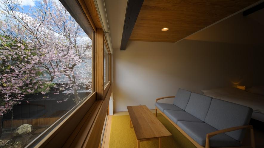【KURA06】春は桜を眺めるお部屋
