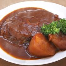 那智勝浦町観光協会会長賞受賞・別注料理(マグロのテールのシチュー)