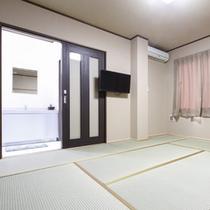 和室8畳(浴室・トイレ・洗面所付き)