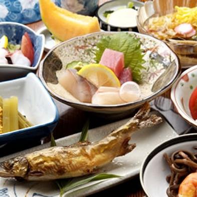 【2食付】自家製食材を使った料理と天然温泉を愉しむ◆【こじゃんと旨い♪】