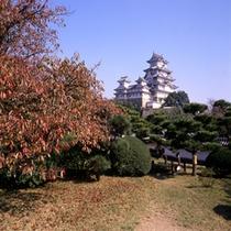 姫路城:秋