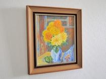 【絵画】館内には様々な絵が飾られています。