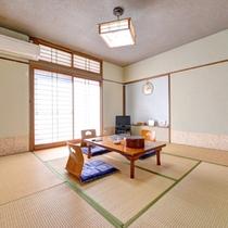 *和室8畳(客室一例)/ファミリーやグループでのご宿泊におすすめ!畳のお部屋でのんびりお寛ぎ下さい。