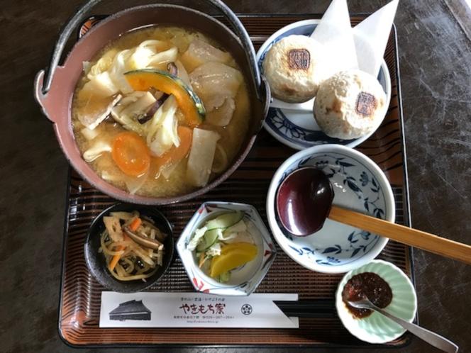 郷土料理 おぶっこ定食