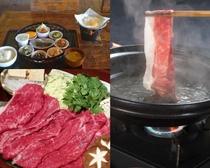 食堂豊後和牛すき焼き&朝食