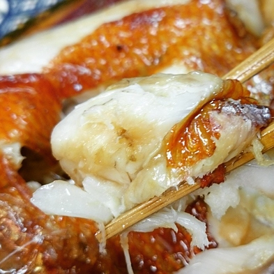 ≪日本酒にあう一品≫アワビの旨さにうふふ♪切り方で変わる鯛刺し&朝食の常連様に人気煮魚プラン【秋得】