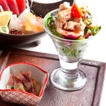 サラダ(蓮根:夕食セット)