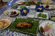 晩御飯のメニュー(一例)