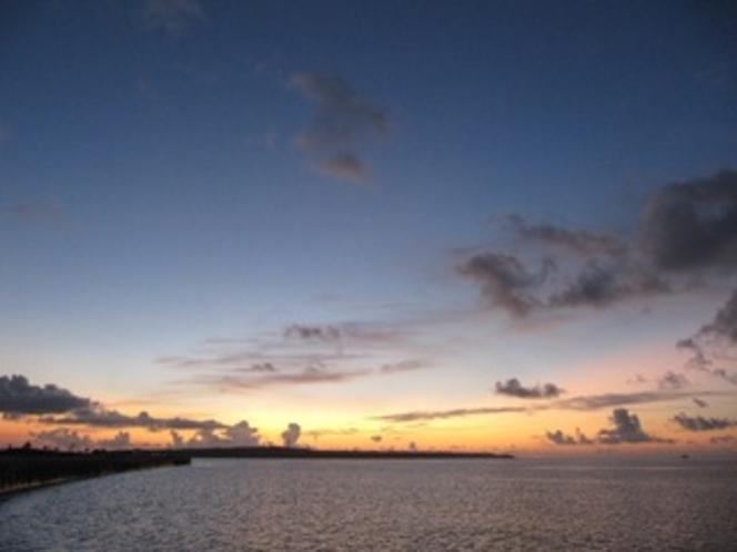 トウリバーの夕日