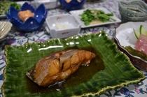 新鮮なお魚料理