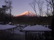 紅富士の湯 冬