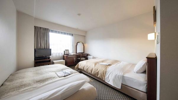 スタジオツイン【禁煙】120cm幅ベッド+ソファベッド