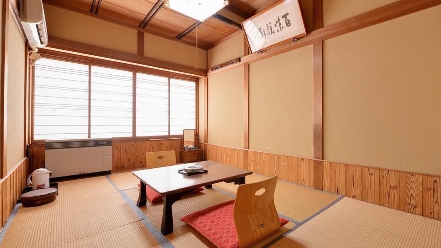 *和室6畳(客室一例)/一人旅やビジネスに◎純和風のお部屋で寛ぎのひと時をお過ごし下さい。