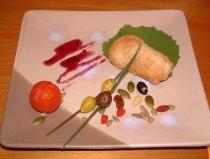 秋鮭の香草パイ包み焼き