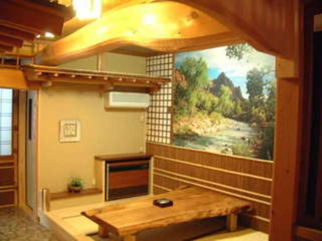 お風呂上りのお休み処