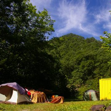 キャンプ風景
