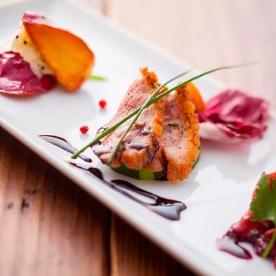 【秋冬旅セール】一番人気Wメイン魚介&但馬牛!イタリアンコース贅沢フィオーレ [ZS004LB]