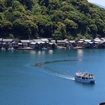【伊根湾めぐり遊覧船】船から伊根の舟屋の風情ある絶景を(当館より車で約60分)