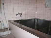 大風呂 足を伸ばしてゆっくりと、お客様の宿泊数により使用しない日もあります