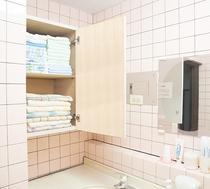 3階 洗面所 / 脱衣場 タオル置き場