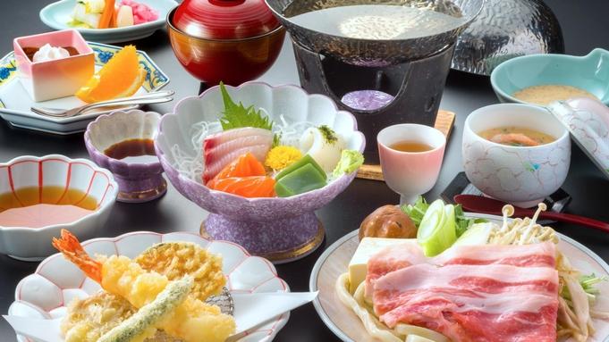 """【夜景を望む180度の""""大パノラマ露天""""】地元食材をふんだんに使った会席料理◆"""