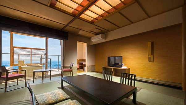 【特別室】露天風呂付き客室<禁煙和室>