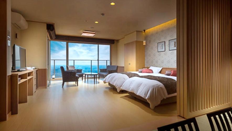 【特別室 和洋室】露天風呂付き客室
