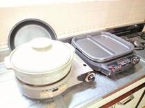 鍋料理も楽しめます。