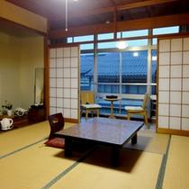 【和室一例】6〜8畳の和室を人数により振り分けさせていただきます。