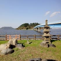 当館から車でやく5分♪日本一の大きさを誇る【湖山池】の散策もオススメ★