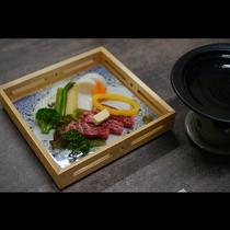 鳥取和牛でお作りしたステーキ