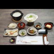 朝食は起きたての身体にやさしい和食をご用意