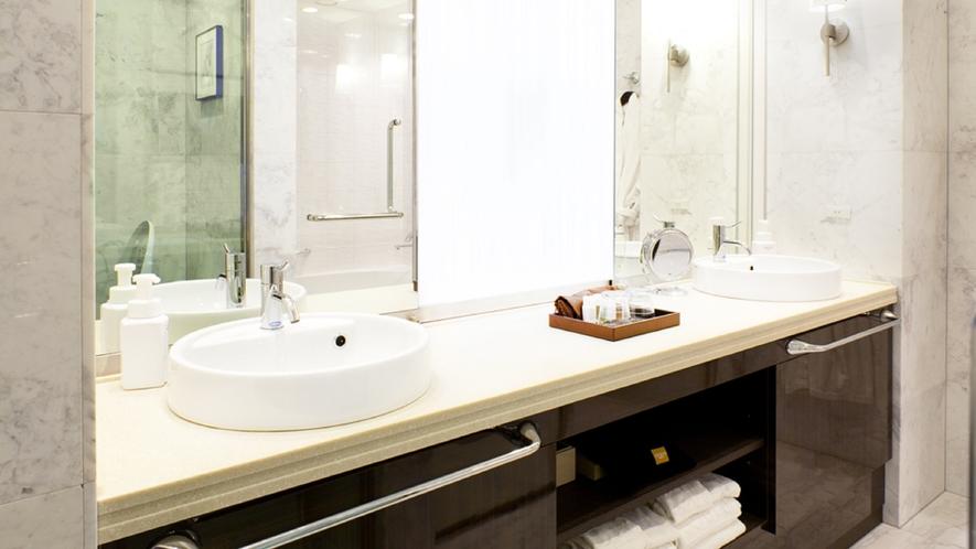 プレミアムツインルーム 洗面所