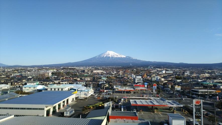 ホテルからの富士山6