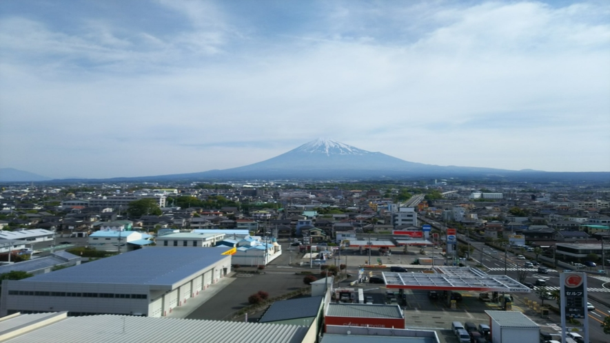 ホテルからの富士山8