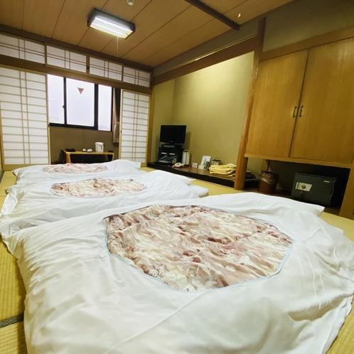 【和室/喫煙】畳と布団でくつろぎたい方にオススメです<Wi-Fi、ウォシュレット完備>