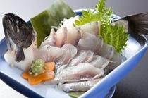 岩魚活け造り(追加料理)