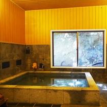 *内湯 秩父七湯のうちの一つに数えられる柴原温泉