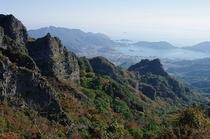 寒霞渓から望む内海湾