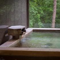 大浴場「とろとろの湯」(春)