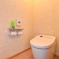 *和洋室(客室一例)/清潔を心掛けたお手洗い。
