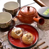 *ご到着後、まずは美味しいお茶と和菓子でゆっくりひと休み。