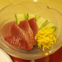 ご夕食(お刺身)
