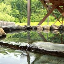 温泉センターの露天風呂
