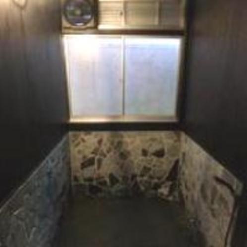貸切音泉の風呂場